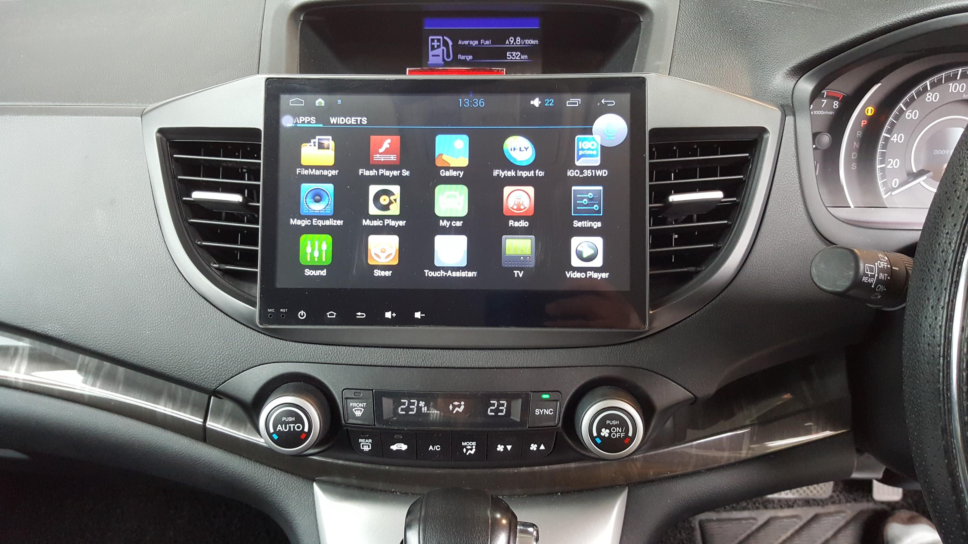 Honda 2012 Crv 10 2 Quot Big Screen Android Gps Multimedia