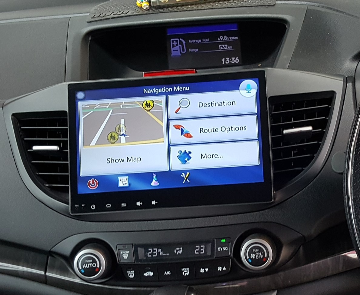 "Gps Car Tracker >> Honda 2012 - CRV 10.2"" big screen Android GPS multimedia ..."